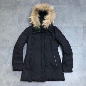 Soia & Kyo Reversible Down Winter Coat Parka